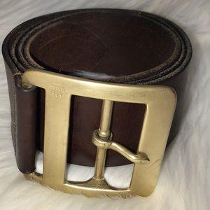 J. Crew leather belt.